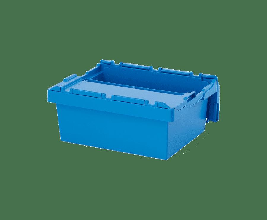 Beh lter mit integriertem deckel 6424 600x400x240 mm for Deckel englisch