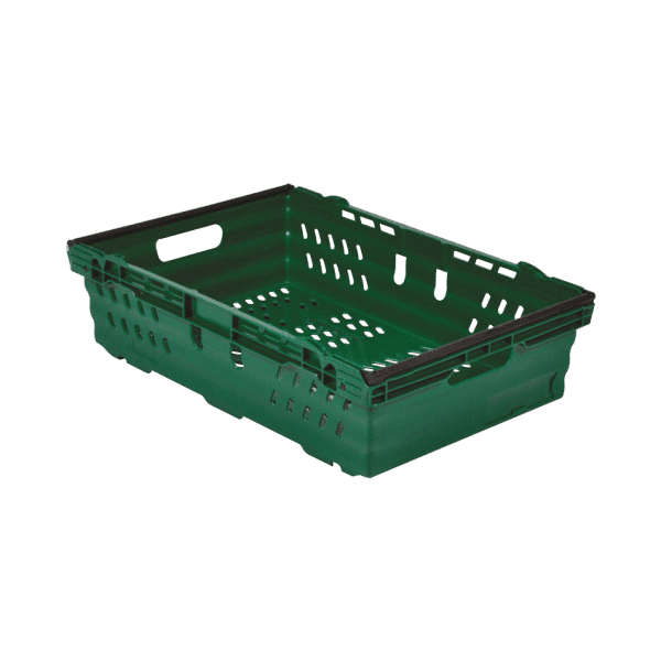 Bale arm container/ Bale arm crate/container/tote/ Crate with bale arms