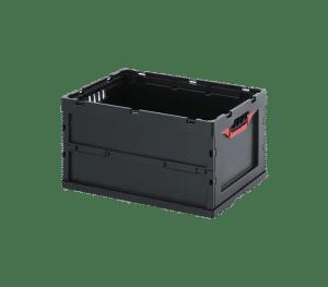ESD fällbar behållare 6432, 600x400x320 mm