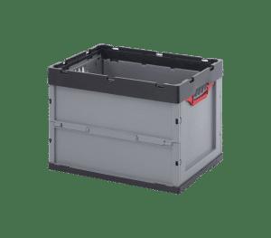 ESD fällbar behållare 6442, 600x400x420 mm