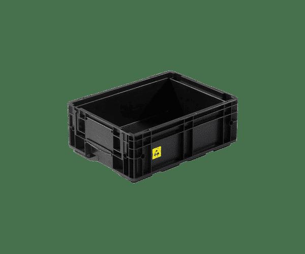 ESD behållare VDA R KLT 4115, 396x297x148 mm
