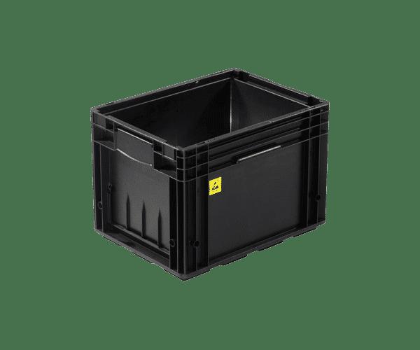 ESD behållare VDA R KLT 4129, 396x297x280 mm