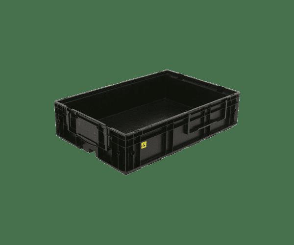 ESD behållare VDA R KLT 6115, 594x396x148 mm
