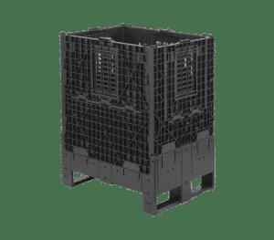 Stor fällbar container 8610 för handel, 800 x 600 x 1032 mm