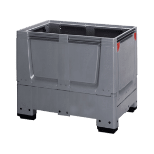 Large volume container with collapsible walls/ Collapsible large box/ container/ pallet box