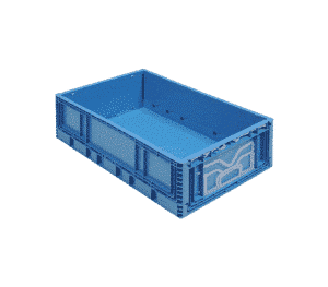 Foldable plastic container/ Pliable plastic container/ Folding plastic container/ box/ tote