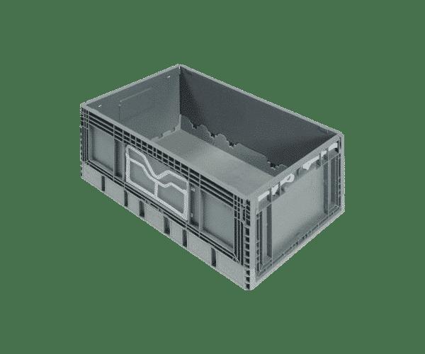 Foldable plastic container/ Pliable plastic container/ Folding plastic container/ box/ tote