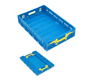Foldable plastic box FV series/ Pliable plastic box/ FV series folding plastic container/ box/ tote