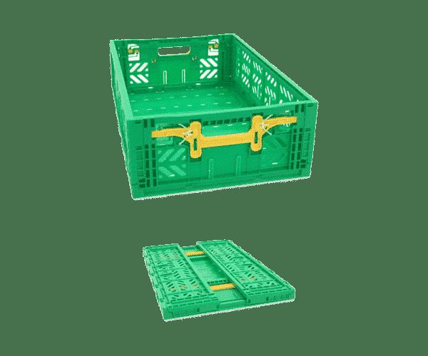 Foldable plastic box FV series/ Pliable plastic box/ FV series folding plastic container/ box/ tote