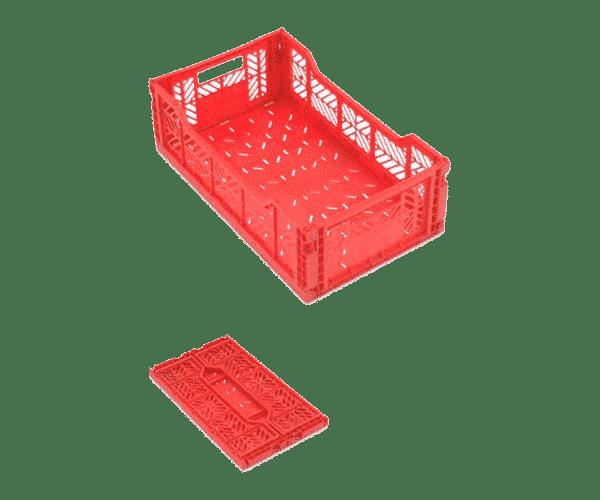 Foldable plastic box OW series/ Pliable plastic box/ OW series folding plastic container/ box/ tote
