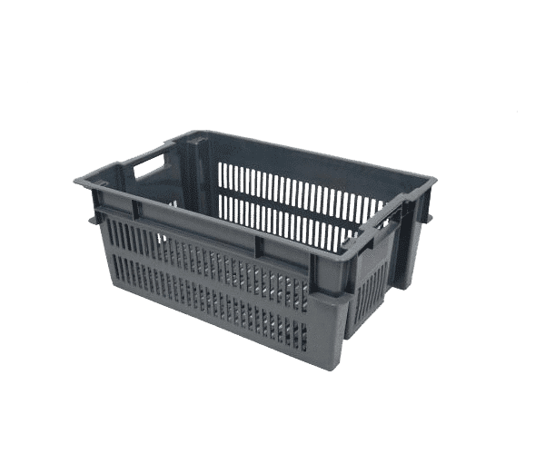 Stackable nestable crate/ Stacking and nesting crate/ tray/Stack and nest crate
