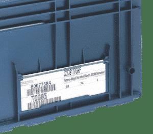 Porta etiquetas
