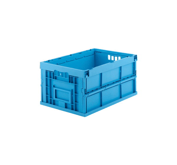 Collapsible plastic container/ Foldable plastic container/ Space saving plastic container/box/ tote