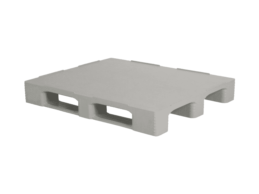 Heavy duty pallet/ Plastic pallet for heavy loads/ Closed deck heavy duty pallet