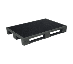 Pallets with anti-slip coating