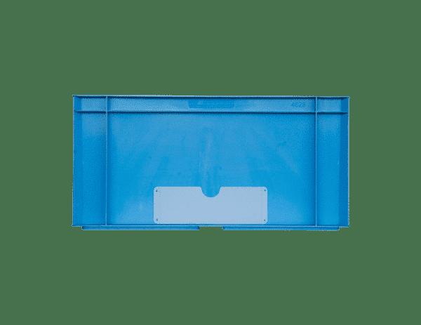 Welded label holder transparent/ Transparent welded label holder