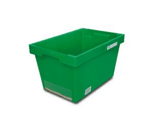 Solid nestable container/ Solid walls nestable container/ Solid nest container