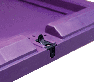 Lid with latch/ Secure lid with latch/ Fastening lid with latch
