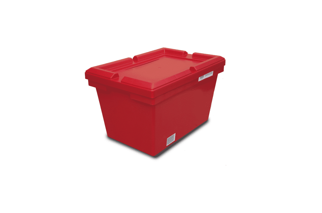 Nestable Containers with lids