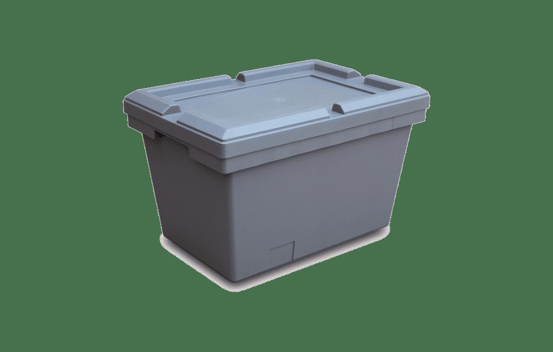 Nestbare Behälter mit Deckel 500310