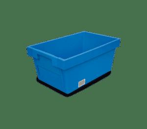 Solid stapelbar behållare med skjutvägg 5321