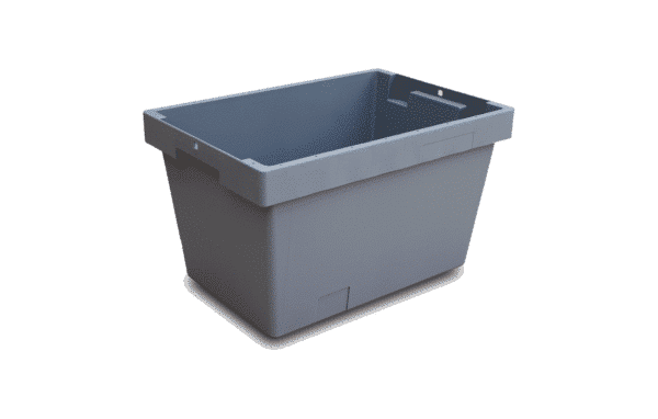 Solid nestable container/ nestable container solid walls/ Solid nest container/ box/ crate