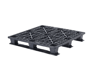 Light duty pallet with skids/ export pallet with skids/ one-way pallet with skids