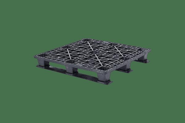 Light duty pallet with skids/ export pallet with skids/ one-way pallet with skids