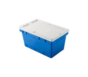 Shipping tote/ shipping box with lid/ Secure shipping tote/ box/ container