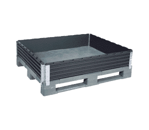 Plastic pallet collar/ Pallet collar made of plastic