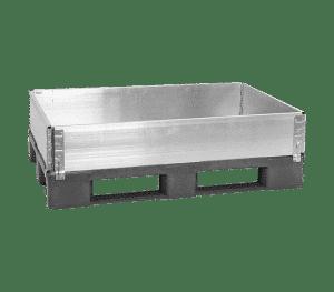aluminum pallet collar/ pallet collar made of aluminum/ stackable aluminum pallet collar
