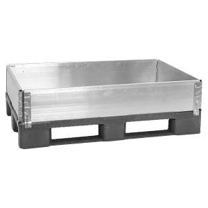 aluminum pallet collar/ pallet collar made of aluminum/ stackable aluminum pallet collar