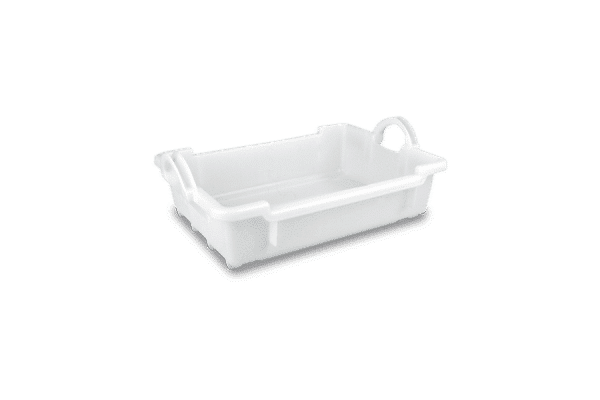 Solid stackable nestable container/Solid stackable nestable plastic container/Solid stackable nestable EURO container