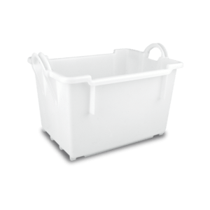 Solid nestable container/Solid nestable plastic container/Solid nestable EURO container