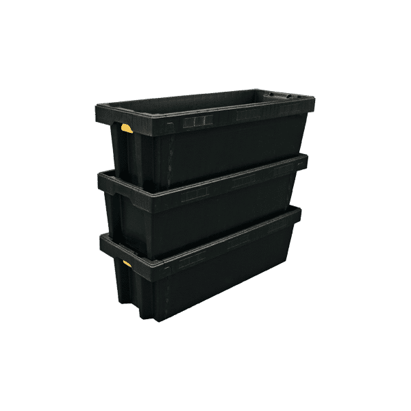 ESD stack and nest container/ Stackable and nestable container/ box/ crate ESD