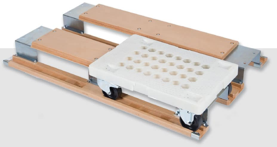 Dolly transfer pallet/ dolly adapter for pallet/ dolly and pallet