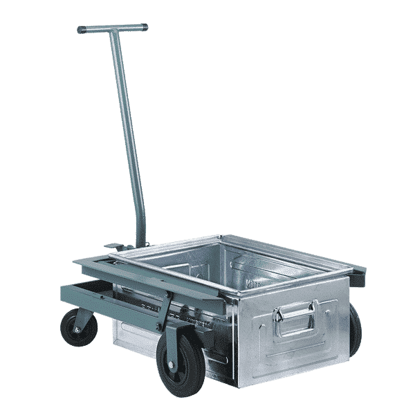 Lifting Trolley for Semi-open Front Storage Container P6430