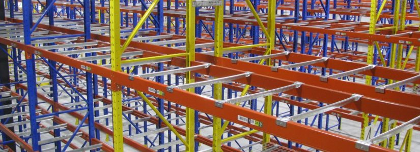 pallet racking for small parts picking in warehouse